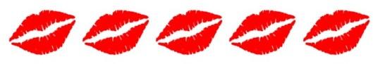 Bewertung 5 Küsse